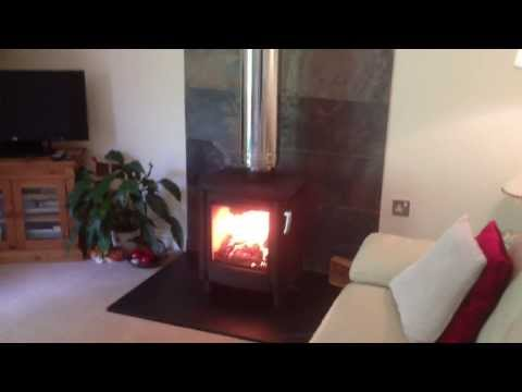 Freestanding wood/log stove no chimney