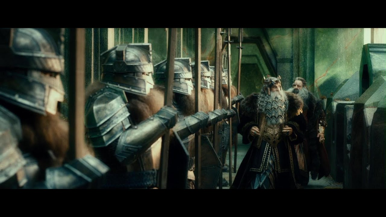 Dwarf Army In Lord Of The Rings