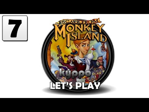 Let's Play Escape From Monkey Island - PART 7
