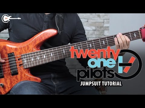 Como tocar JUMPSUIT de TWENTY ONE PILOTS  Bass Tutorial FÁCIL