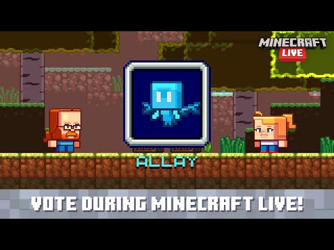 Minecraft Live 2021: Vote for the allay!