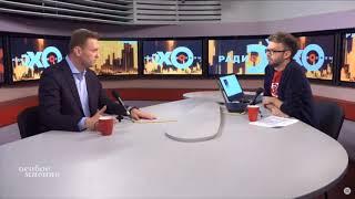 Навальный о выдвижении ЮЛИИ НАВАЛЬНОЙ в президенты