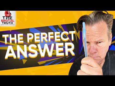 SELL ME THIS PEN - THE PERFECT ANSWER TO SELL ME THIS PEN INTERVIEW QUESTION - WOLF WALL STREET