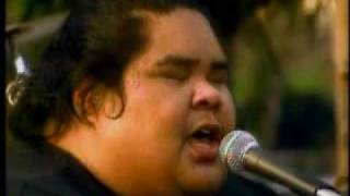 Israel Kamakawiwo Somewhere over the rainbow AMERICAN IDOL IZ SUPER STAR DIED