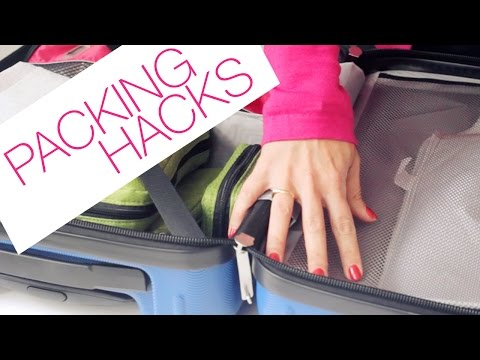 The BEST Packing Hacks & Travel Tips