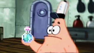 Patrick that's a Potion Of Invisibility