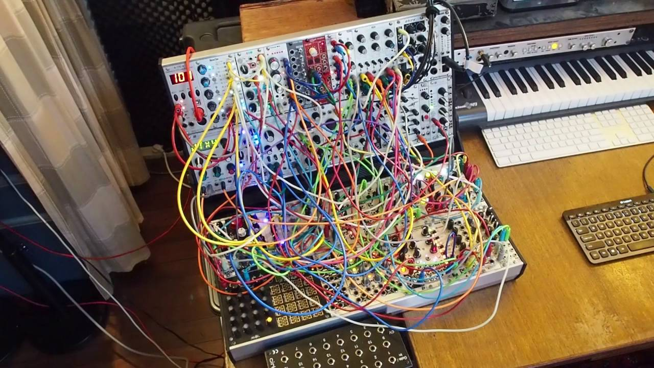 difficult modules a eurorack modular synthesizer patch youtube. Black Bedroom Furniture Sets. Home Design Ideas