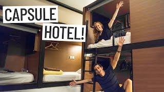 Gambar cover SINGAPORE CAPSULE HOTEL EXPERIENCE! - Asia Travel Vlog