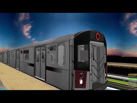 OpenBVE ►5 Train Bronx to Manhattan◀ (R142!) (East 180th St to 125th Street!)