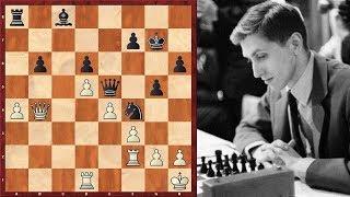 Шахматы. Глигорич - Фишер: гроссмейстеры тоже зевают в 1 ход!