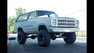 1979 Dodge Ramcharger For Sale - Test Drive Video (68K Miles)