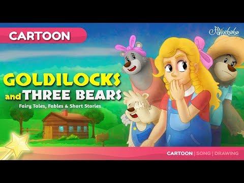 Goldilocks and the Three Bears kids story | Bedtime Stories for Kids