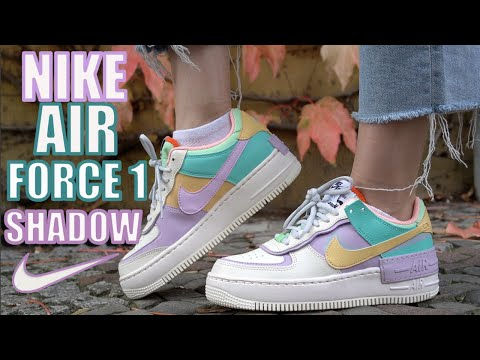 NIKE AIR FORCE 1 SHADOW REVIEW + ON FEET