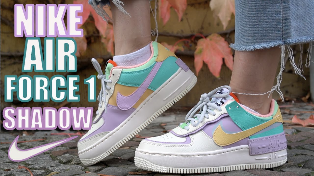 Nike Air Force 1 Shadow Review On Feet Youtube