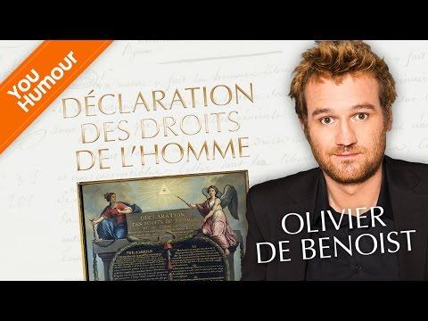 OLIVIER DE BENOIST - Déclaration des droits de l'homme