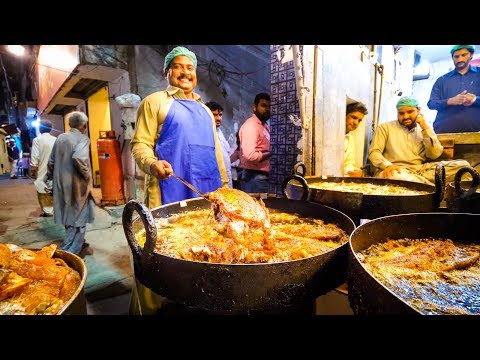 Street Food in Pakistan - ULTIMATE 16-HOUR PAKISTANI FOOD Tour in Lahore, Pakistan! thumbnail