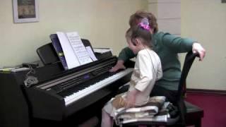 Урок с Вероникой. ''Свободное фортепиано''. Часть 2/5