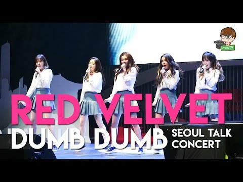 Red Velvet - INTRO + 'Dumb Dumb' at Seoul Talk Concert Jakarta [HD 60FPS]