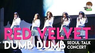 Red Velvet - INTRO + 'Dumb Dumb' at Seoul Talk Concert Jakarta [HD 60FPS]