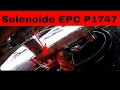Como cambiar caja de selenoides de transmision automatica CODIGO P1747 EPC SOLENOID van E350 PARTE 1