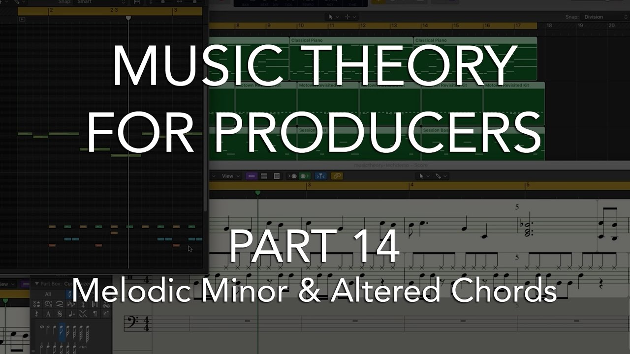 Music theory for producers 14 melodic minor altered chords music theory for producers 14 melodic minor altered chords hexwebz Choice Image