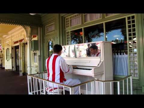 Disney Jim performing the Maple Leaf Rag