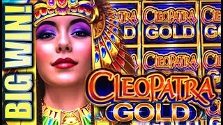 ★AMAZING CLEO BIG WIN!! CLEOPATRA GOLD★ REDEMPTION AT LAST!! Slot Machine Bonus (IGT) [REPOST]