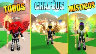 THIS SERVER of MYSTICAL ITEMS in MINING SIMULATOR-ROBLOX