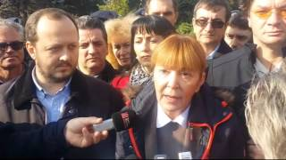 Protest Targu Mures 25 octombrie 2015