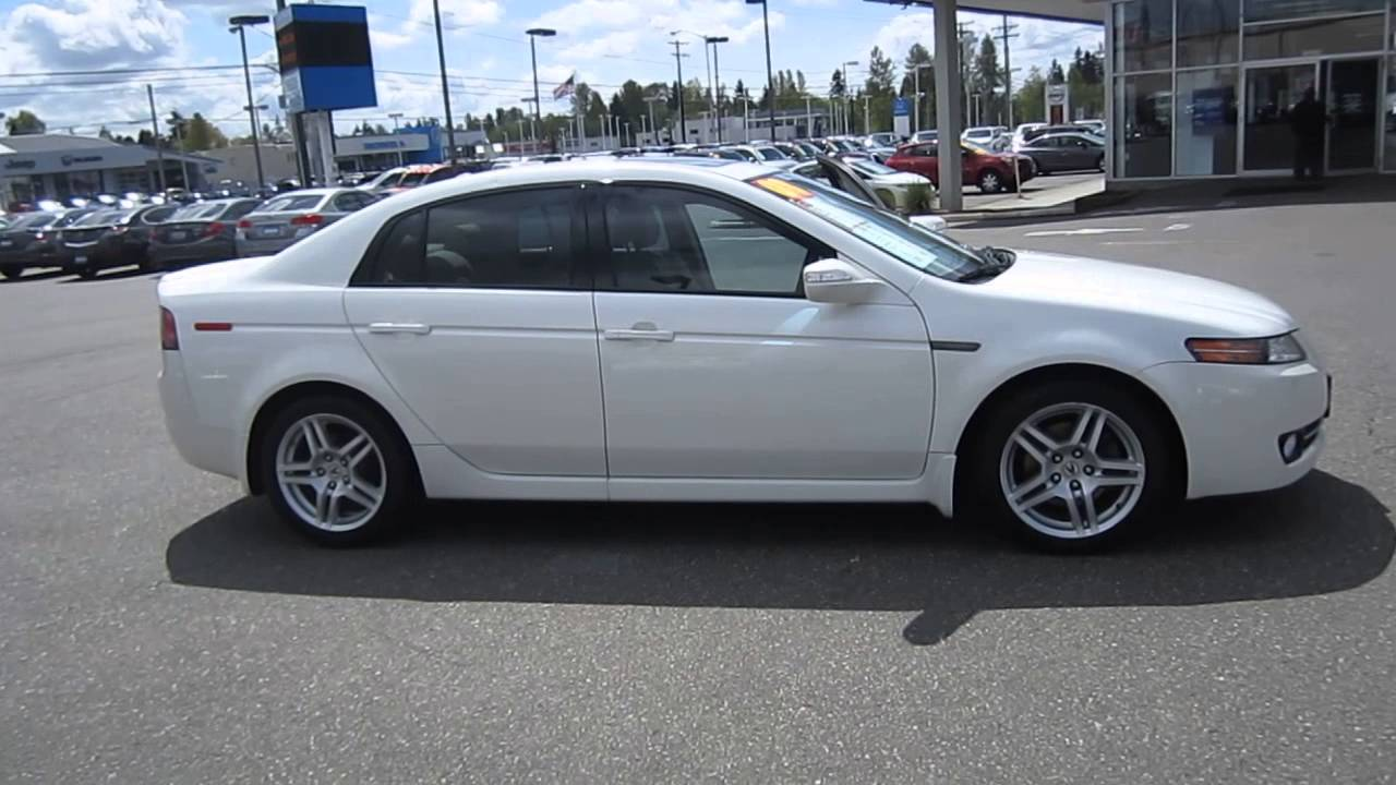 2008 Acura TL White Diamond Pearl  STOCK 13134P  Walk around