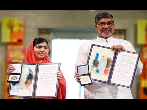 [WATCH] Kailash Satyarthi, Malala Yousafzai Awarded For Voice Of Children With Nobel Peace Prize