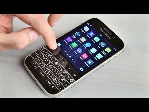 Обзор ретро-смартфона BlackBerry Classic