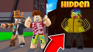 This *SECRET* Hiding Spot should be BANNED! Roblox (Hide And Seek)