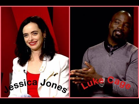 Marvel's Defenders - Krysten Ritter & Mike Colter, Spoiler Alert About Luke & The Secret Of Cremes