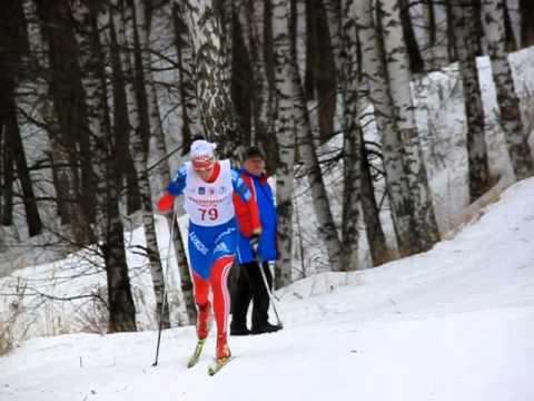 Красногорская лыжня Щербинина Анна