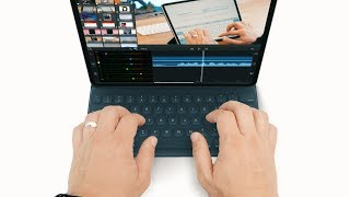 Gambar cover This is the BEST 2018 iPad keyboard! Apple Smart Keyboard Folio Review