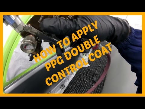 #HOWTO APPLY CONTROL COAT #PPG #PAINT