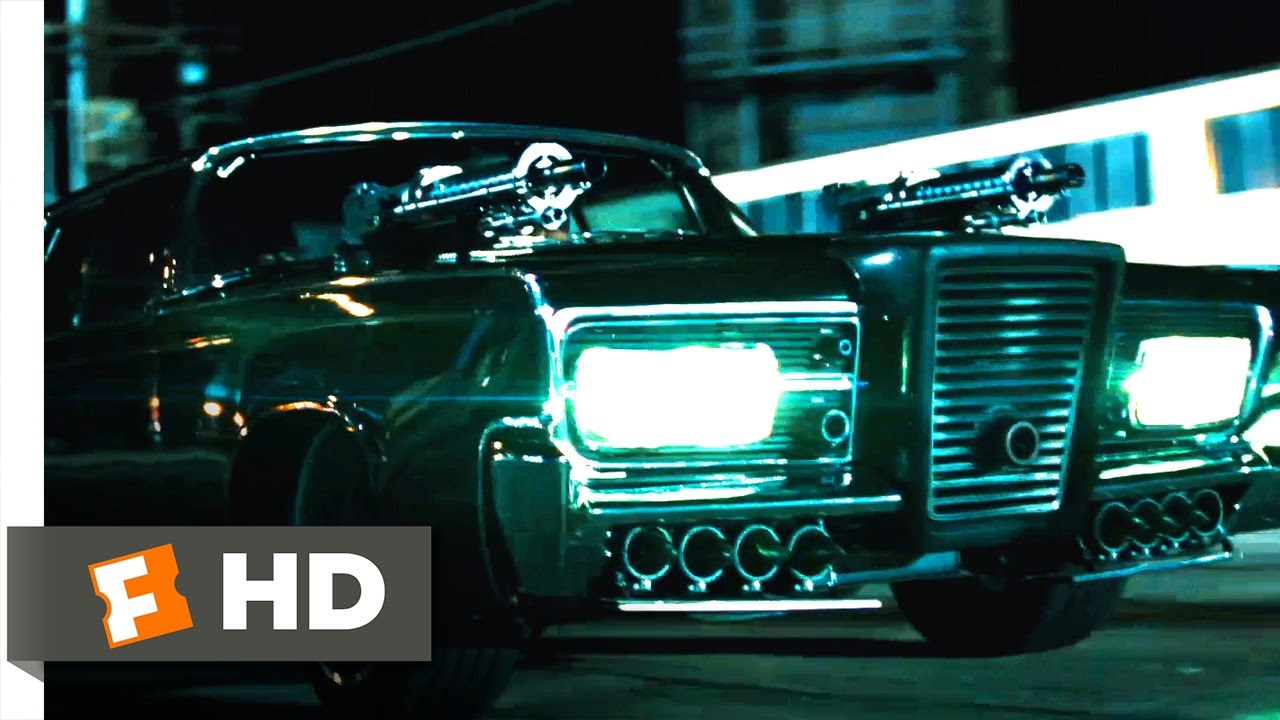 The Green Hornet 2011 That S A Very Big Gun Scene 9 10 Movieclips Youtube