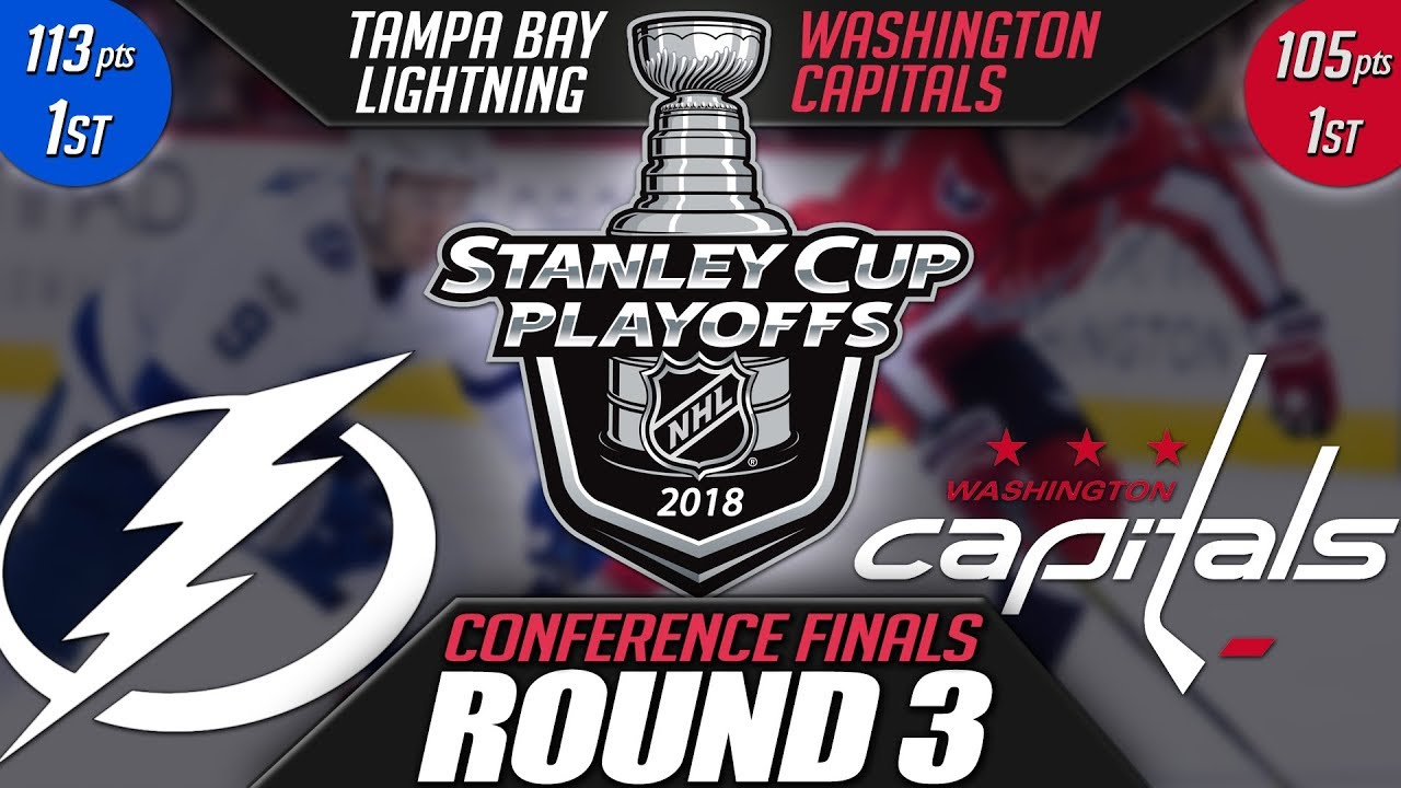 Tampa Bay Lightning vs Washington Capitals - Round 3 Playoff Preview ... 2d7f76aea488