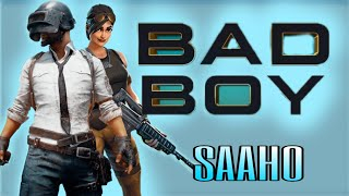 saaho: bad boy song pubg Animation