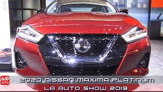 2020 Nissan Maxima Platinum - Exterior And Interior - LA Auto Show 2019