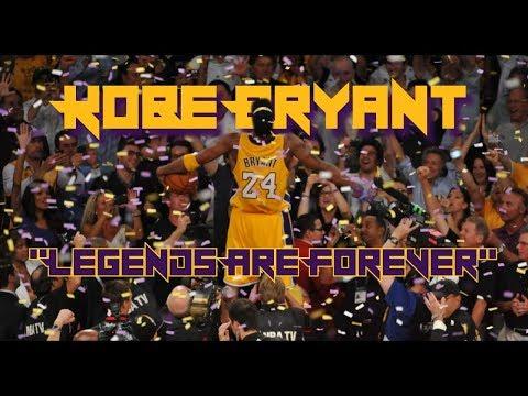 "Kobe Bryant Mini-Movie | ""Legends Are Forever"" | Jersey Retirement Tribute"