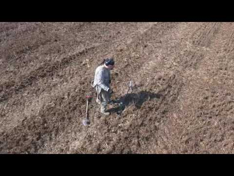 Dji phantom 4 - Coil to the soil metal detecting dig Selby