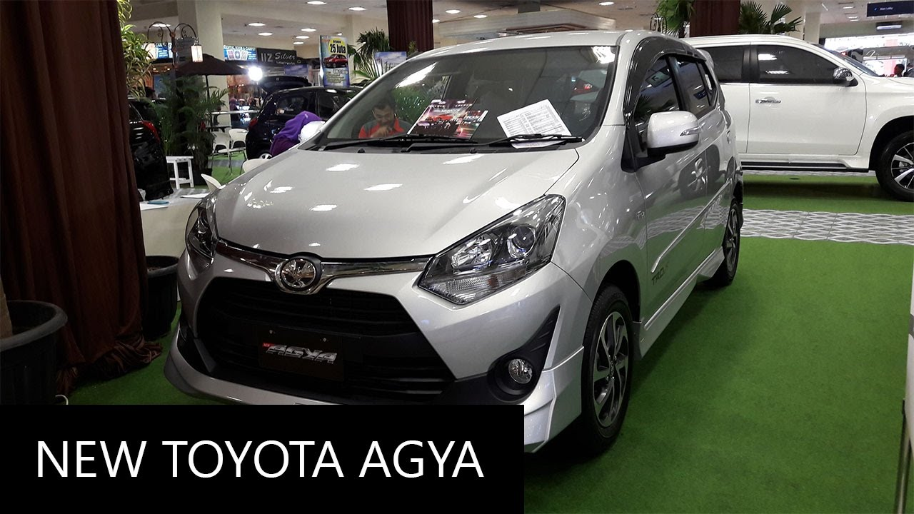 New 2017 Toyota Agya 1 2 Trd S Exterior And Interior