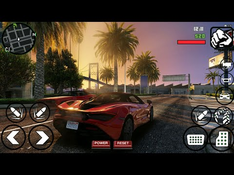 GTA V HD Graphics Modpack [200 MB] GTA SA Android | High Quality Graphics | Support All Devices