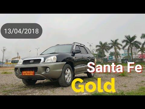 (Đã bán) Santa Fe Gold 2005   xe 7 chỗ, máy dầu, gầm cao, bền bỉ của Hyundai
