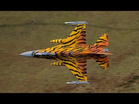 F16 Tiger Belgium plane Mach Loop.