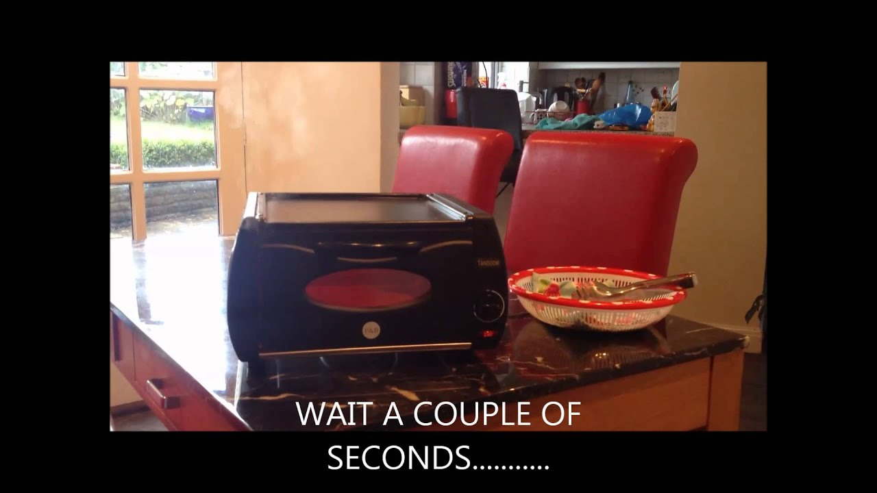 & The Mini Tandoor - electric chappati oven - YouTube