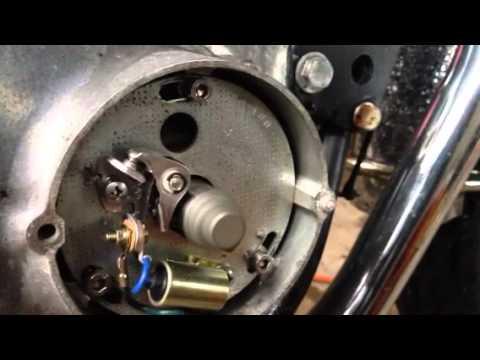 John Deere Ignition Wiring Diagram 1974 Kz400 Points Spark Youtube