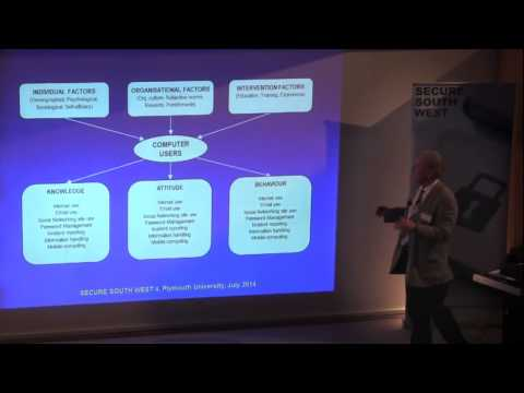 Secure South West 4 - Malcolm Pattinson - Promoting Information Security Awareness